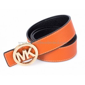 Orange Belt Gold Buckle