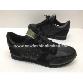 Black, Suede/Leather